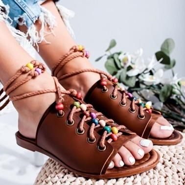 Limoya Sandalet Taba